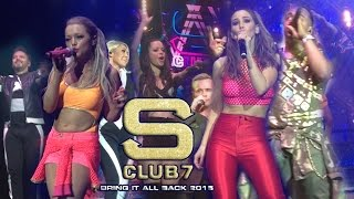 s club 7 live 2015 mash up the o2 17 05 15