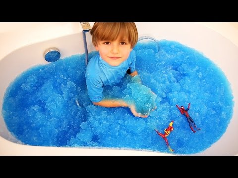 Fun with Gelli Baff - Cool Toy