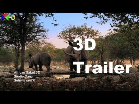 3D Trailer: AFRICAN SAFARI 3D Trailer Deutsch German   Sehenswert?! EXTRA [3D] [HD]