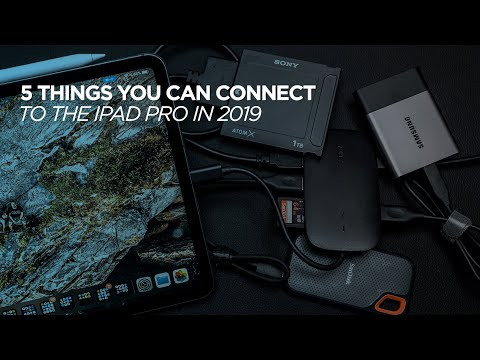 5 Things You Can Connect To IPad Pro In 2019 With IPadOS 13