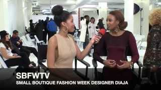 Gambar cover SMALL BOUTIQUE FASHION WEEK TV WITH DIAJA
