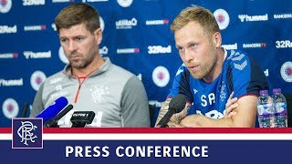 PRESS CONFERENCE | Gerrard and Arfield | 17 Jul 2019