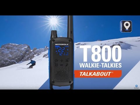 Motorola Solutions' TALKABOUT T800 Walkie-Talkies: Go Beyond Push-To-Talk