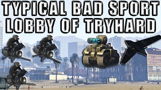 How The Typical Bad Sport Lobby Be In Gta 5 Online