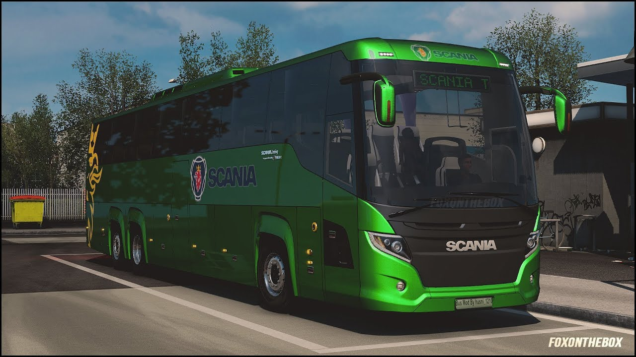 Steam Community :: Video :: Scania Touring Bus & Skinpack +