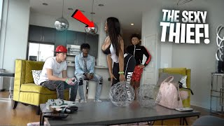 The Sexy Thief PRANK | Ft. Moriah Mills