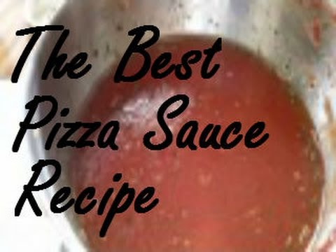 How To Make The BEST Pizza Sauce From Tomato Paste