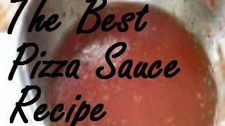 The best homemade pizza sauce recipe - from tomato paste