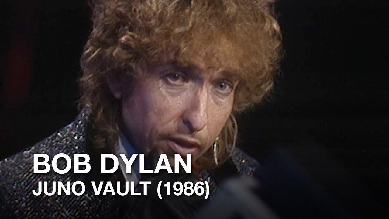 Download Bob Dylan's surprise Juno appearance (1986) | Junos Vault