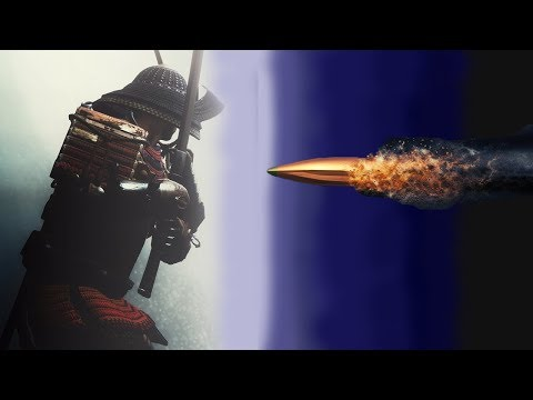 Modern SAMURAI Can Cut Speeding BULLET in Half!