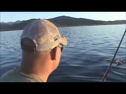 Fly Fishing Georgetown Lake Near Anaconda, MT