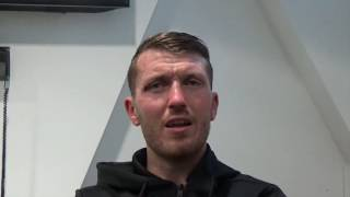 SCOTT CARDLE - 'I WOULD LOVE TO DEFEND MY BRITISH TITLE IN SCOTLAND' / ON DESIRE TO GRAB EBU TITLE