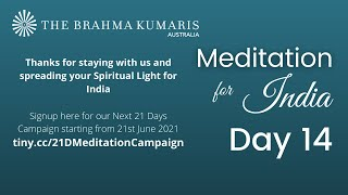 Meditation for India - Day 14