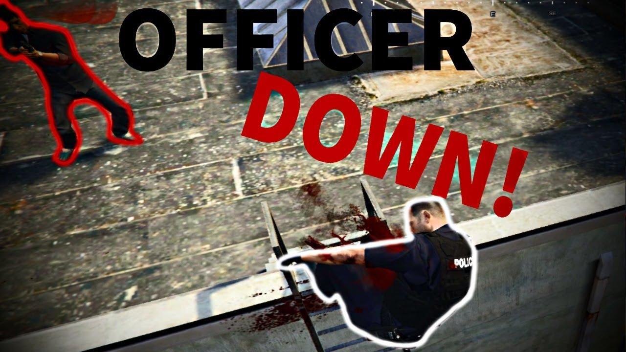 FiveM Police RP - OFFICER DOWN!