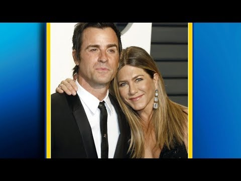 Jennifer Aniston and Justin Theroux announce they are separating