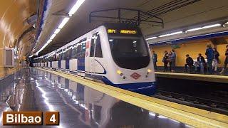Metro de Madrid : Bilbao L4 ( Serie 3000 )