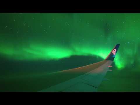 Aurora Australis From Flight NZ1980 23-24 March 2017