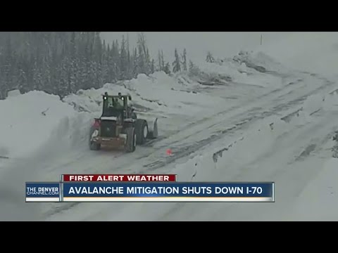Avalanche control work closes multiple passes, highways in Colorado