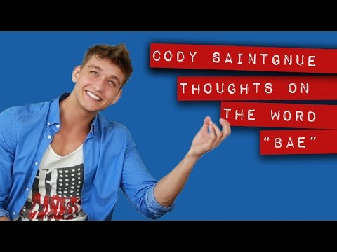 How Cody Saintgnue feels about the word