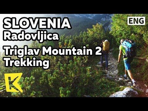 【K】Slovenia Travel-Radovljica[슬로베니아 여행-라도블리차]트리글라브 산 2/Triglav/Mountain/Trekking/Mountain cabin