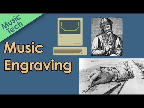 Music Engraving - How Music was Made Before Computers