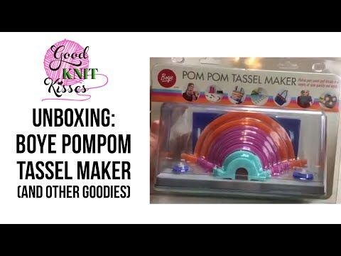 Unboxing Boye Pom Pom Tassel Maker and others goodies FB Liv