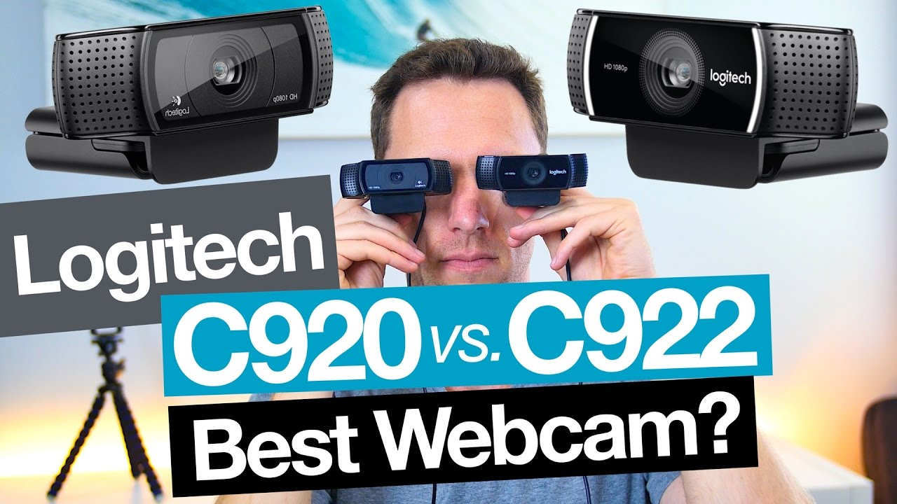 best webcam: logitech c922 vs c920 - youtube