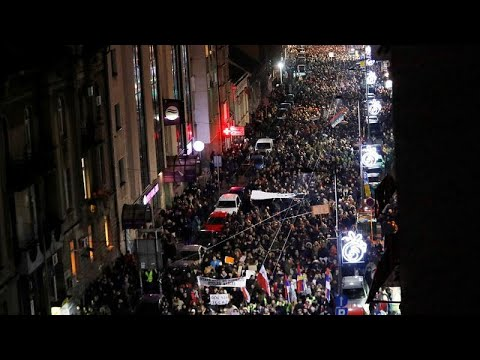 شاهد: احتجاجات عارمة في بلغراد ضد سياسات رئيس صربيا  - نشر قبل 40 دقيقة