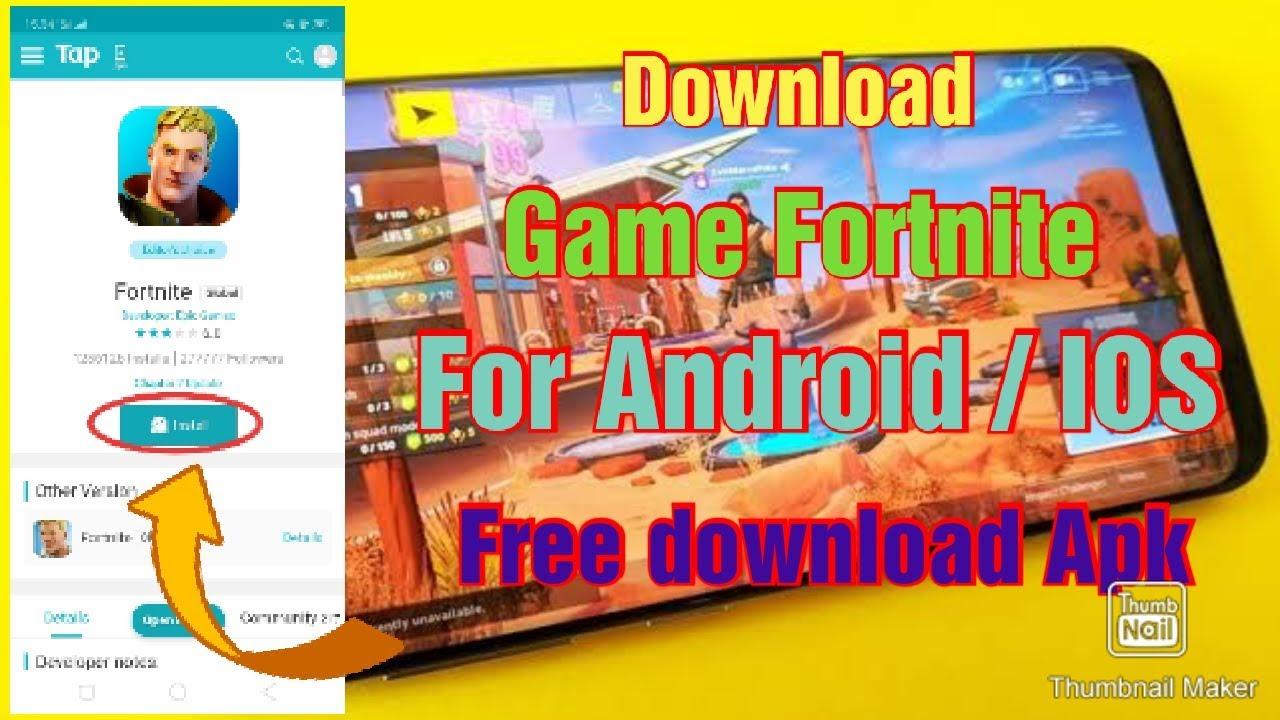 Cara download Game Fortnite Versi Terbaru 2019 -- Support ...