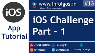 Challange for iOS App Part 1 - Tutorial 1