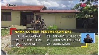 Ini Daftar Nama 31 Pekerja yang Jadi Korban Penembakan KKB di Papua - iNews Siang 04/12