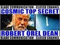 Robert Dean - UFO Progetto COSMIC TOP SECRET