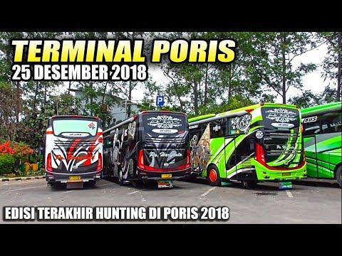 SPESIAL LIBURAN | Akhir Tahun di Terminal Bis Poris Tangerang