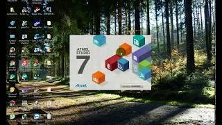 Atmel Studio 7 (AVR-Studio) Tutorial: Wie erstelle & Bauen Neues Projekt