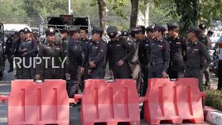 Thailand: Police block 'freedom' march in Bangkok