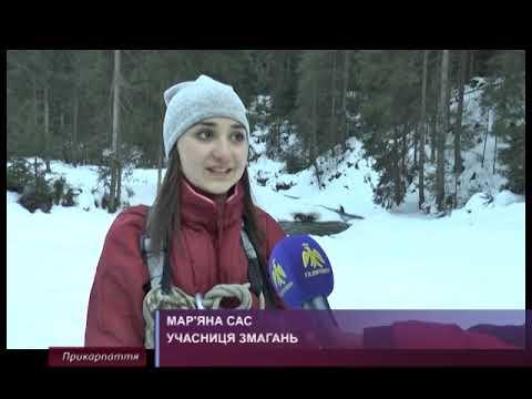 Обласні змагання з техніки лижного туризму