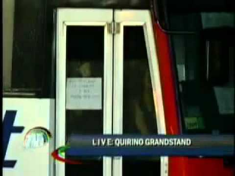 Manila Hostage Taking ABS CBN Full Coverage   August 23  2010   YouTube