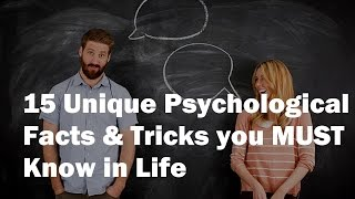 Video 15 Mind Blowing Psychological Facts & Tricks you MUST Know download MP3, 3GP, MP4, WEBM, AVI, FLV November 2017