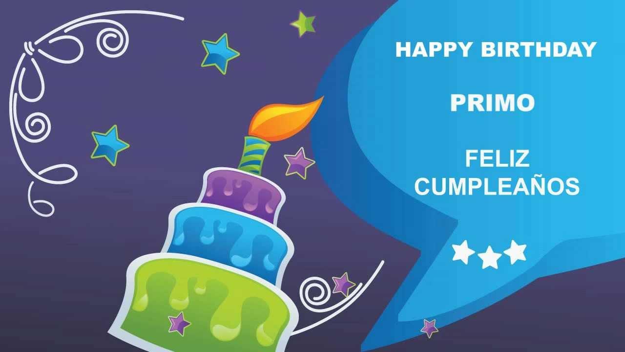 Primo card tarjeta happy birthday youtube