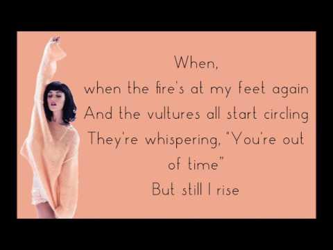 Katy Perry RISE   KATY PERRY   LYRICS RISE   KATY PERRY