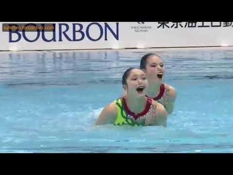 Erika Yamashita/Akane Yanagisawa (Athena) Duet Free Preliminary Japan Open 2018