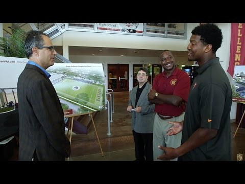 Derrick Brooks & Eddie DeBartolo Take Jameis Winston To School | NFL 360