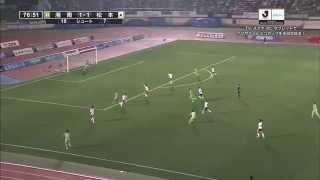 ナビスコカップ予選リーグ第5節 湘南ベルマーレ×松本山雅FCのハイライト...