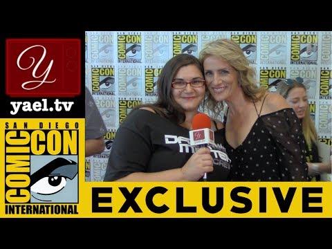 Kirsten Nelson (Chief Karen Vick) - Psych: The Movie - San Diego Comic Con 2017 | yael.tv