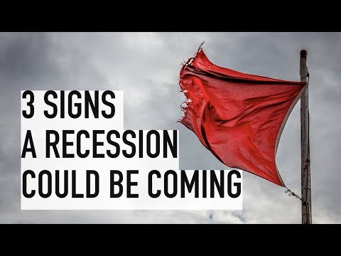 Is a Recession Coming? 3 Signs of a Stock Market Crash in 2019/2020