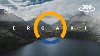 🔵 VR 360° Video 8K L 🌄 Поход в горы на выходные - Ергаки