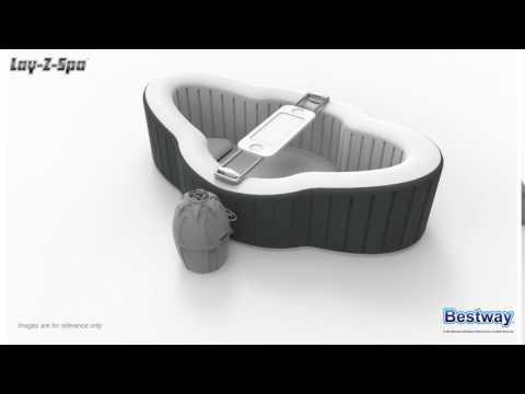 Lay-Z-Spa Siena Airjet - 360 Animation