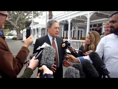 Election17 LIVE: Winston Peters stand up 24/9/17