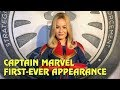 Captain Marvel First-Ever Appearance - Disney Magic Marvel Day at Sea