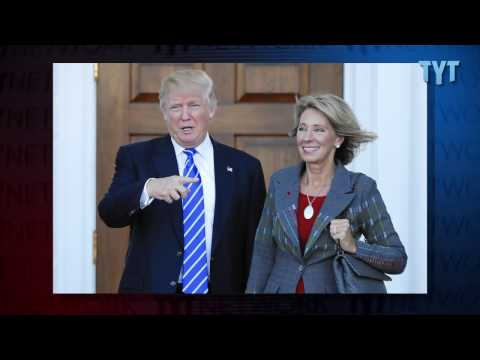 Billionaire Heiress Confirmed as Education Secretary: But... Why?